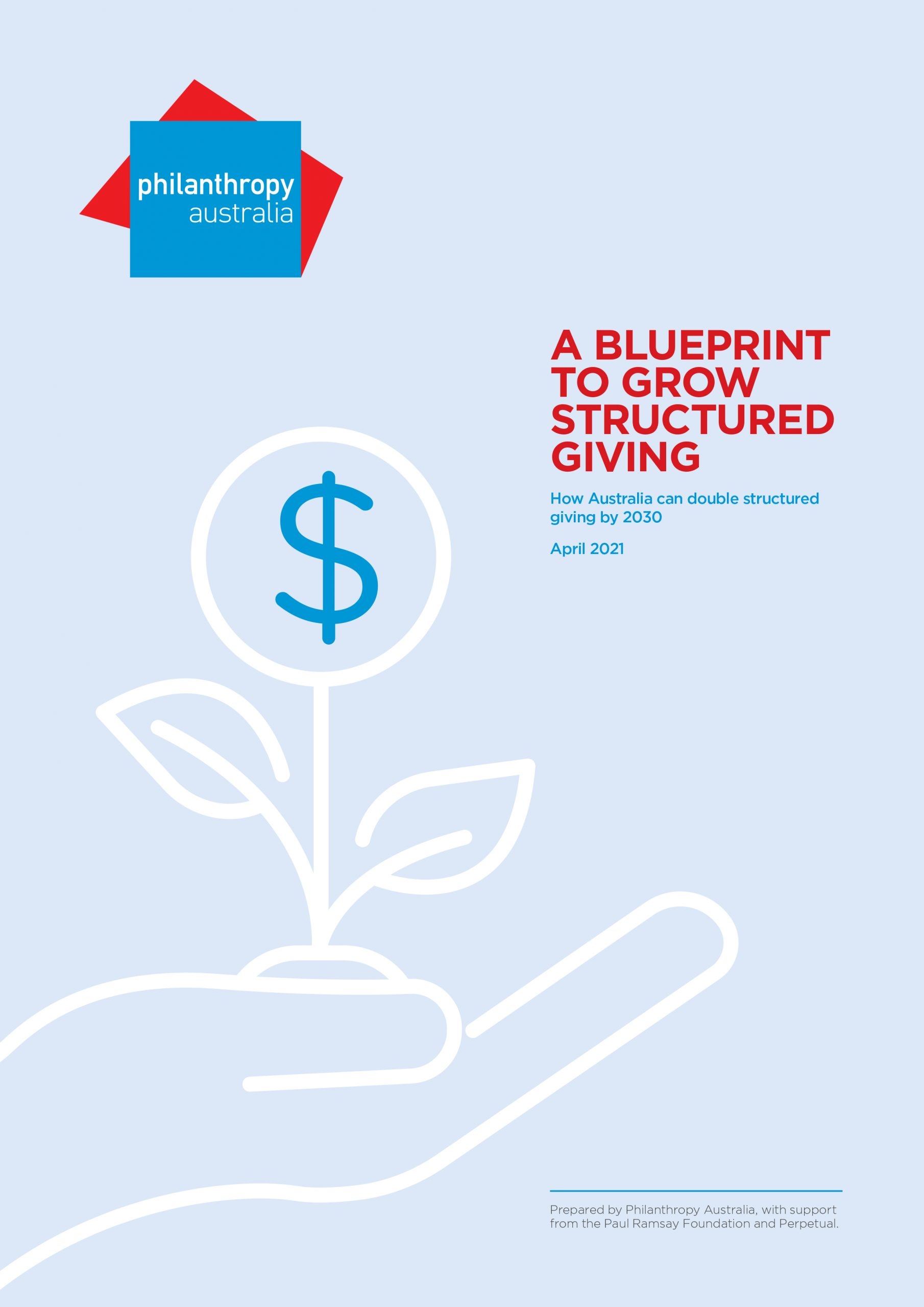Blueprint to Grow Structured Giving Report