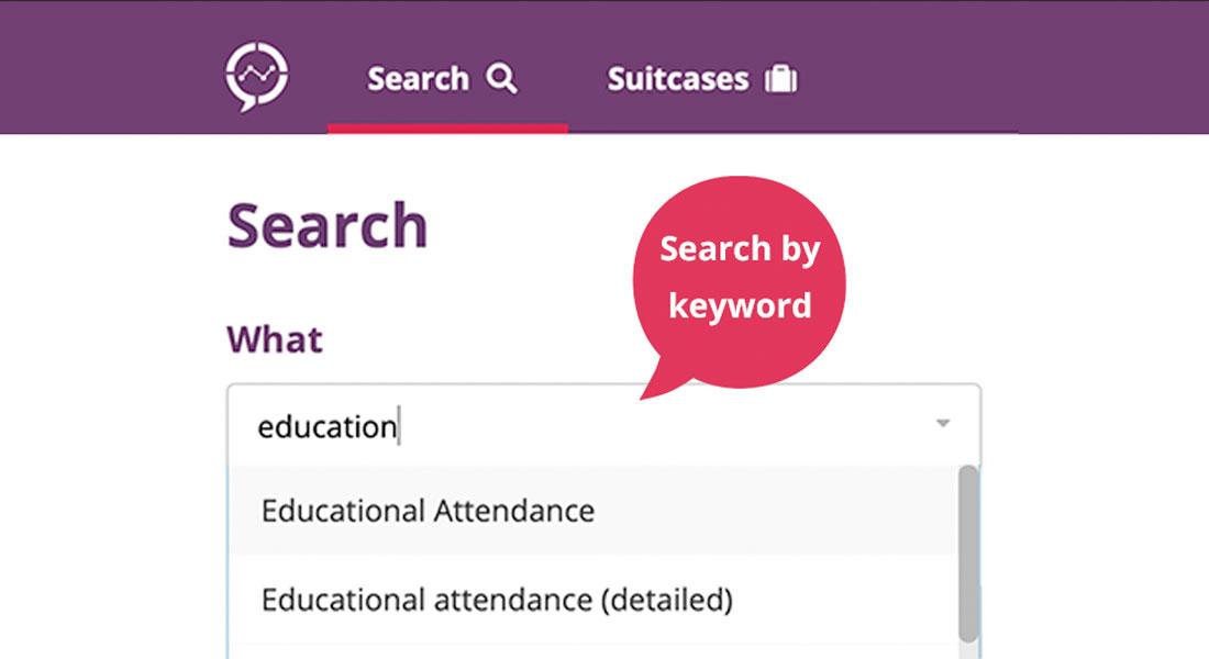 Search by keyword on Seer